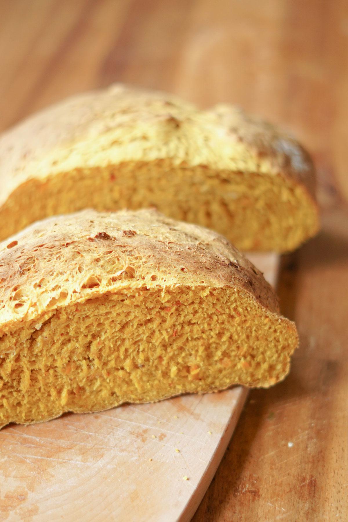 Veganes Kürbisbrot » einfaches Herbstrezept