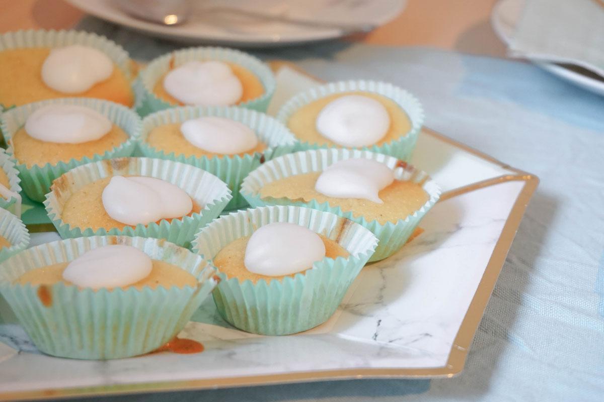 Minimuffins mit Zitronengeschmack
