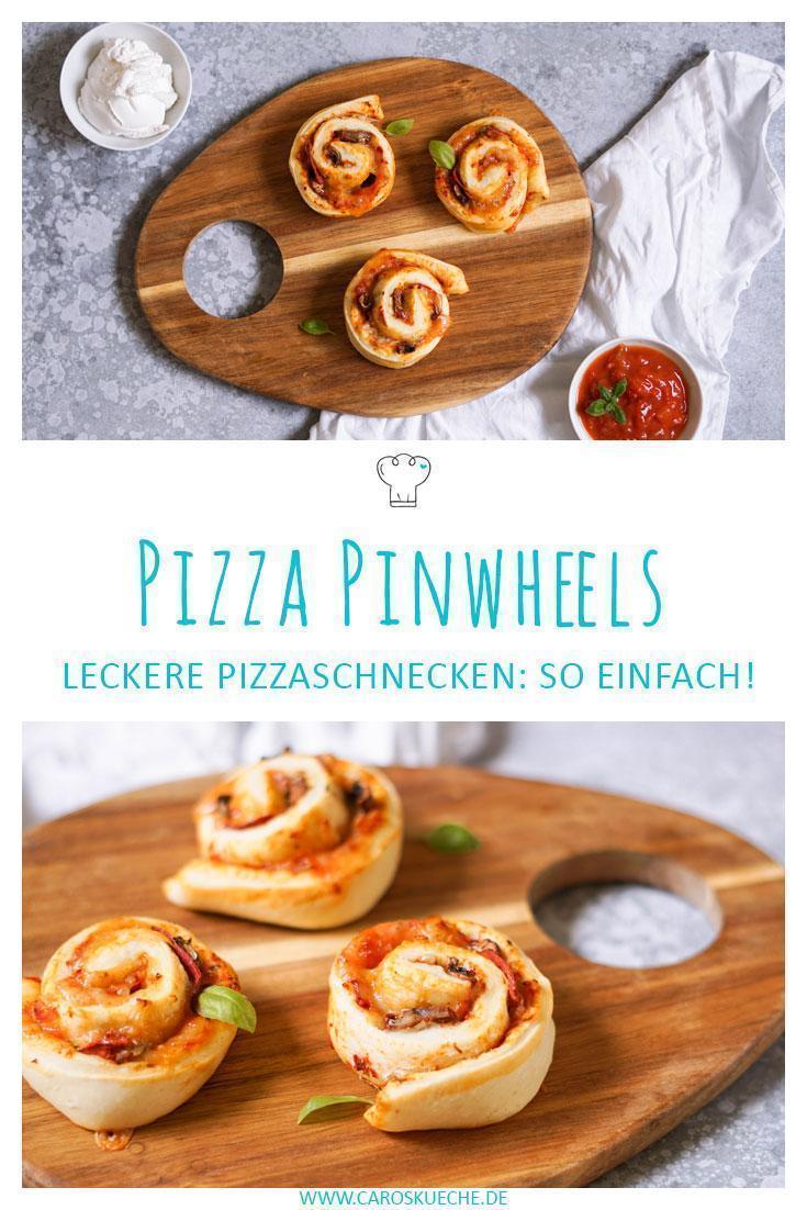 Pizza Pinwheels: einfache Pizzaschnecken