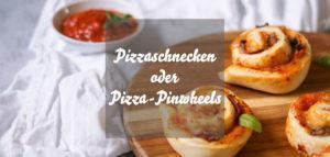 Einfache Pizzaschnecken vegane Pizza