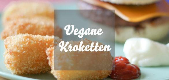 Vegane Kroketten einfaches Krokettenrezept mit Kartoffeln ohne Ei