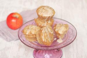 Muffins mit Apfel ohne Ei