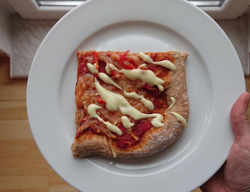 Pizza vegan selbstgemacht