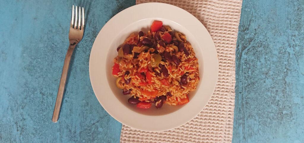 Reis mit Bohnen nach ElaVegan