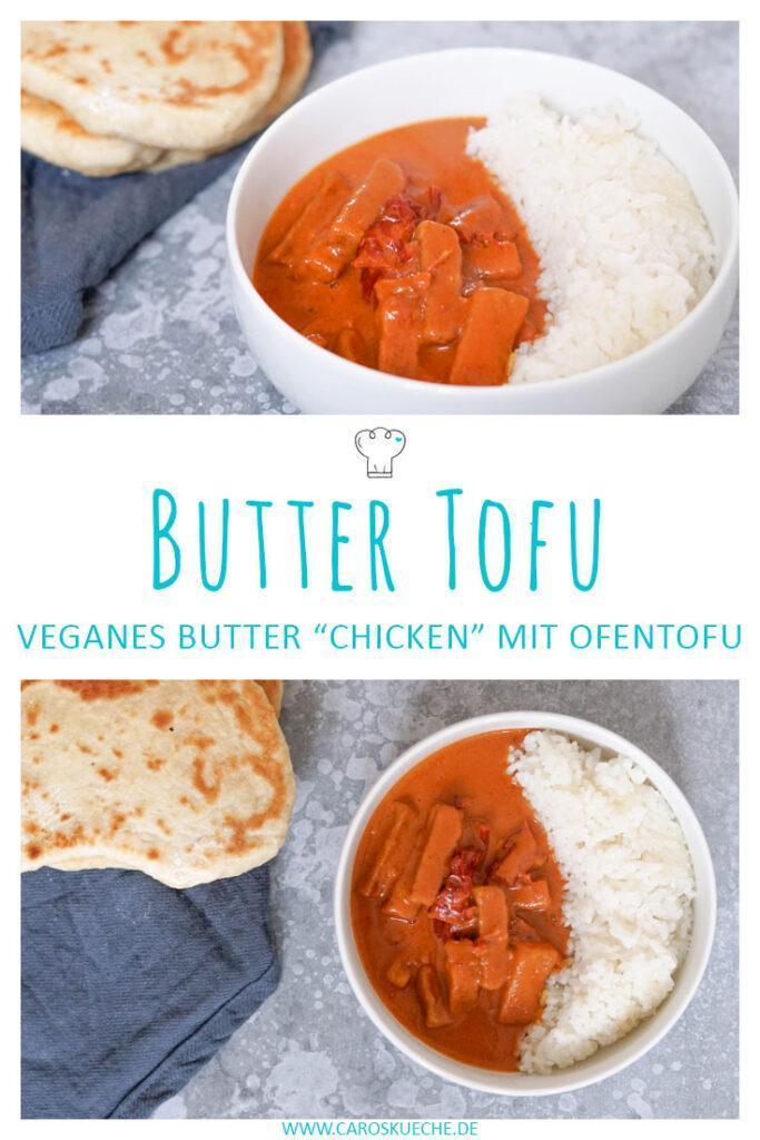 Butter Tofu veganes indisches Butter Chicken