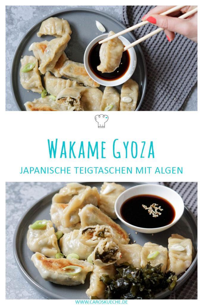 Wakame Gyoza » Gyoza mit Reis und Algen
