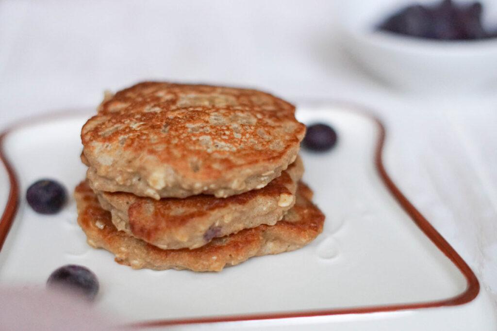 Vegane Pancakes ohne Ei und Milch