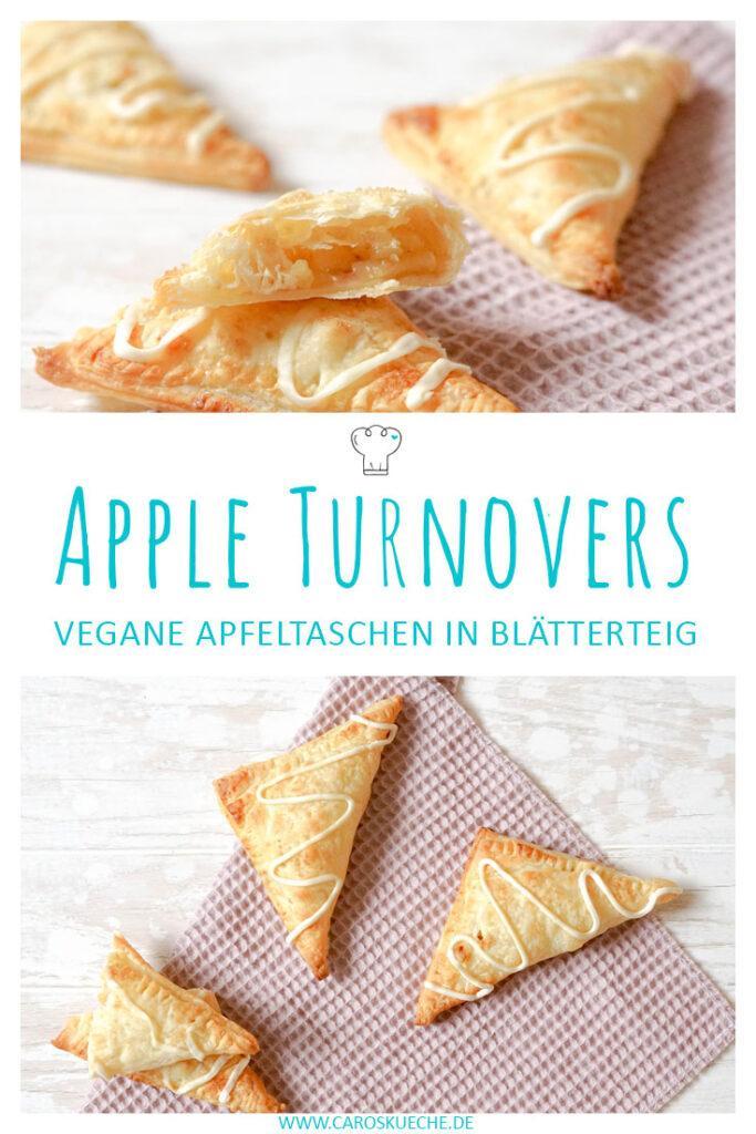 Apple Turnovers: Vegane Apfeltaschen