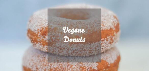 Vegane Donuts Rezept mit Hefe