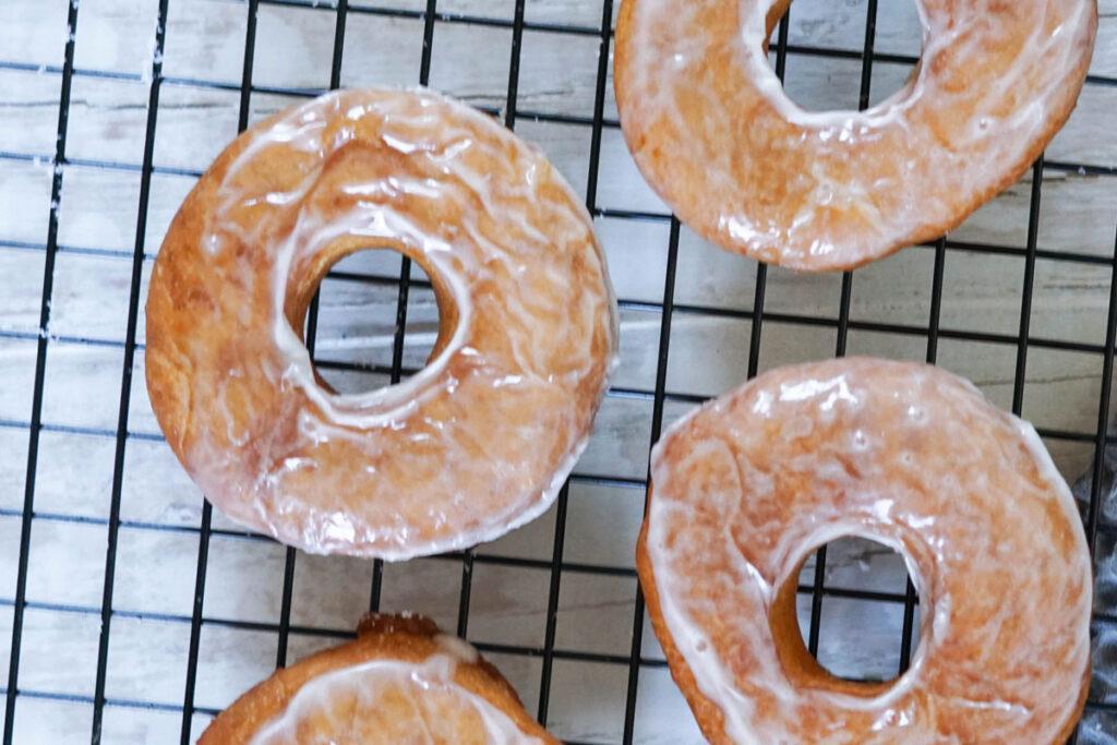 Rezept für frittierte Donuts
