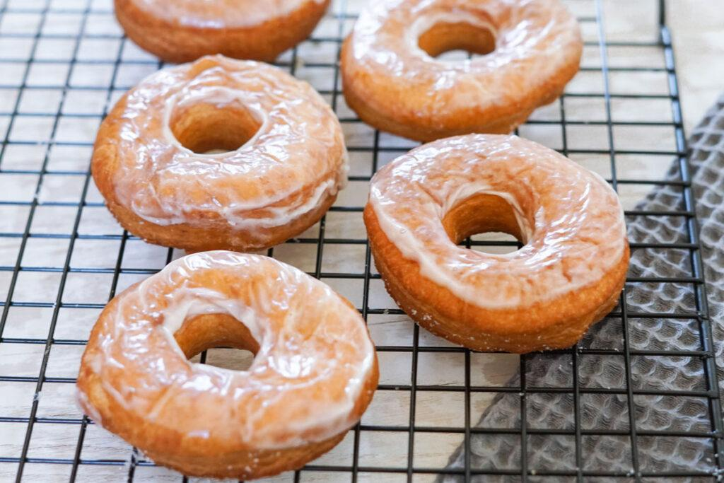 Rezept für Donuts mit Glasur