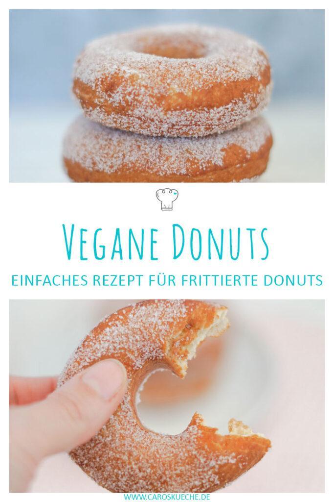 Vegane Donuts: Rezept für frittierte Donuts mit Zucker