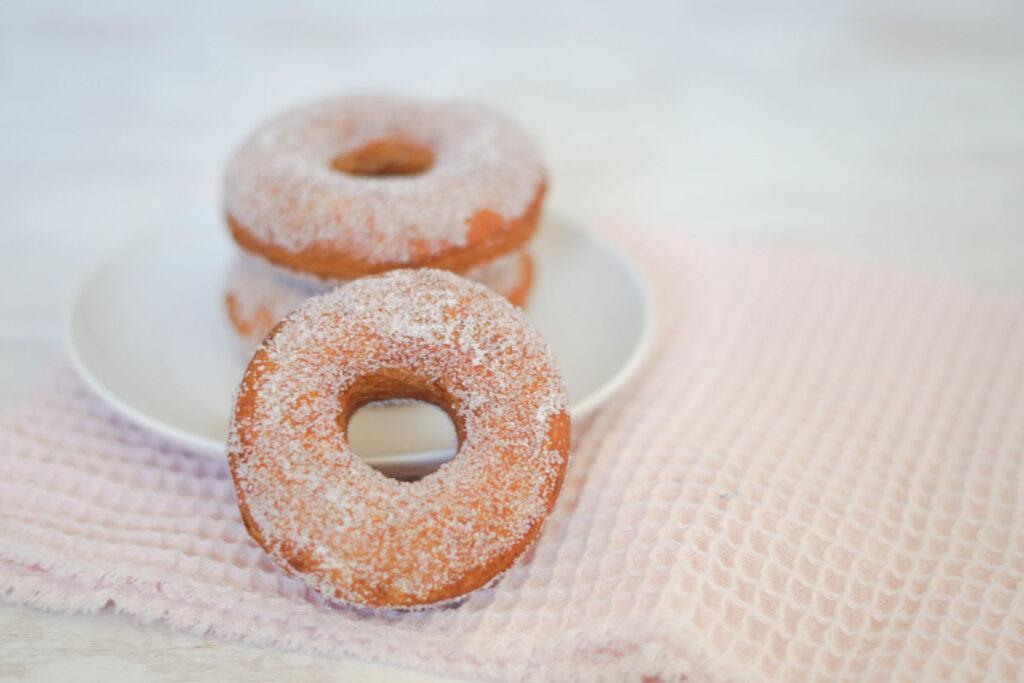 Rezept für vegane Donuts