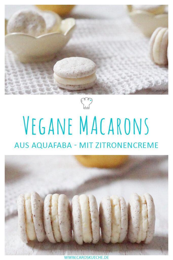Vegane Macarons mit Aquafaba