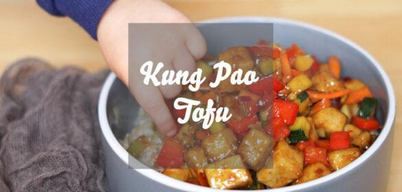 Kung Pao Tofu » einfaches vegeanes Rezept mit Tofu