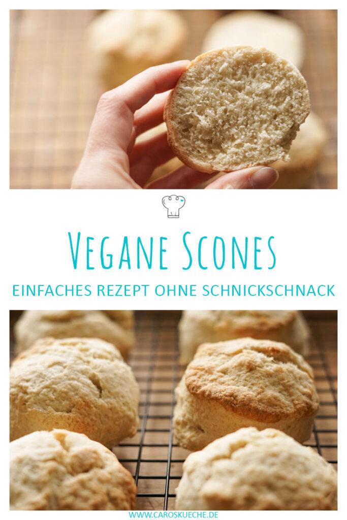 Vegane Scones: einfaches Rezept für britische Scones